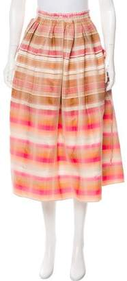 Brock Collection Striped Stella Skirt w/ Tags