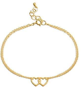 Dogeared Women Gold Charm Bracelet of Length 23cm VGB881-06-IN