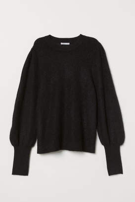 eadb59ee58f3dc Black Mohair Jumper - ShopStyle UK
