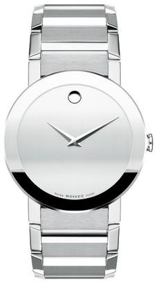 Men's Movado Sapphire Bracelet Watch, 38Mm $1,895 thestylecure.com
