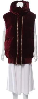 Stella McCartney Hooded Puffer Vest w/ Tags