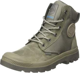 Palladium Men's Pampa Sport Cuff Wpn Boots, Grey, 10 US