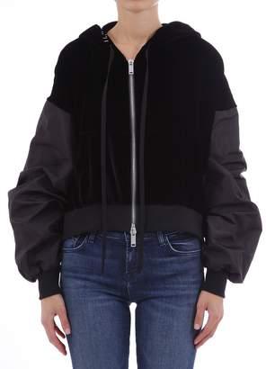 Taverniti So Ben Unravel Project Sweatshirt Black Velvet