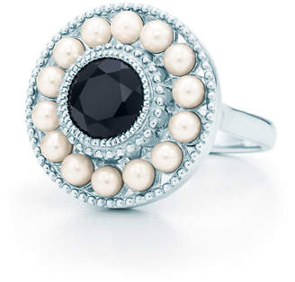 Tiffany & Co. Ziegfeld Collection pearl ring