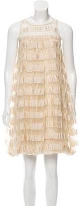 Tracy Reese Ruching Mini Dress