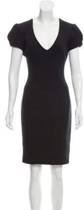 L'Agence A-Line Body-Con Dress