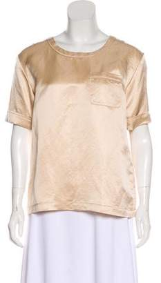 Marc by Marc Jacobs Silk-Blend Top