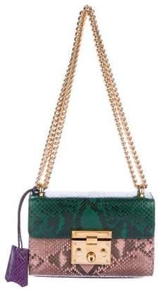 Gucci Python Small Padlock Bag
