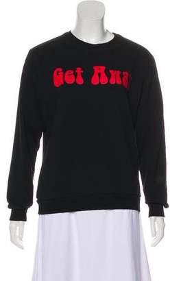Natasha Zinko Graphic Crew Neck Sweatshirt