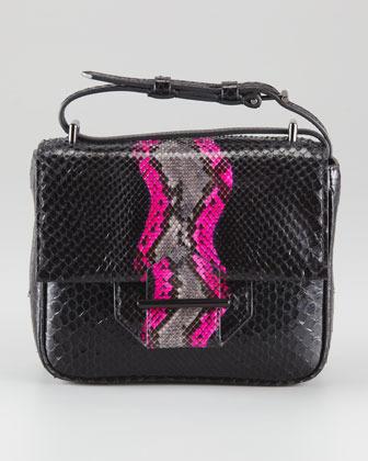 Reed Krakoff Python Standard Shoulder Bag, Mini