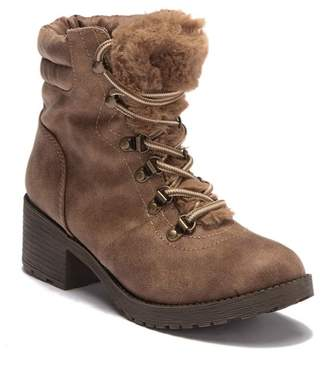 Rock & Candy Saydie Faux Fur Lined Ankle Bootie