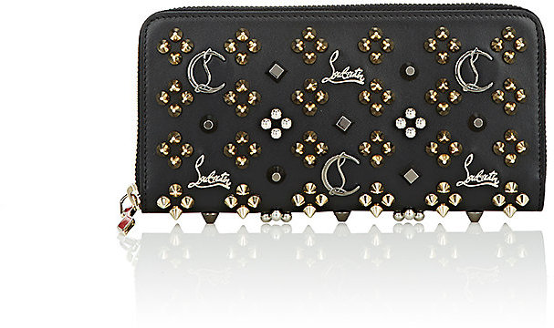 Christian Louboutin  Christian Louboutin Women's Panettone Zip-Around Wallet