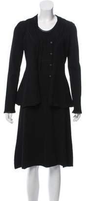 Balenciaga Knit Midi Dress Set