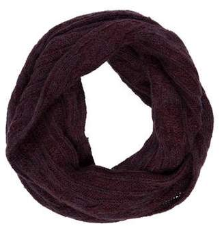 AllSaints Cable Knit Infinity Scarf