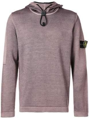 Stone Island drawstring hooded sweater