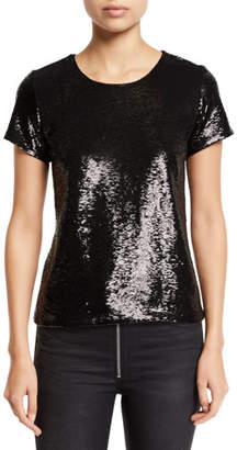 Generation Love The Sequin Short-Sleeve Top