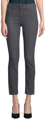 Genetic Los Angeles Women's Audrey High-Rise Ankle Jeans - Savile Row, Size 29 (6-8)