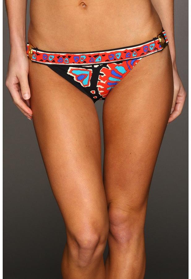 Trina Turk Buckle Side Hipster Bottom Women's Swimwear