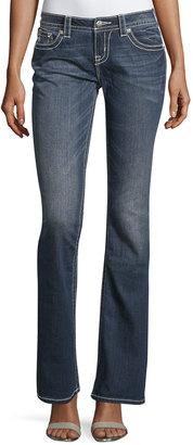 Miss Me Mid-Rise Boot-Cut Denim Jeans, Medium Wash 194 $69 thestylecure.com