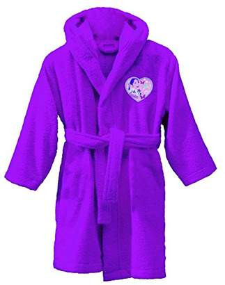 CTI 042127 Bathrobe - For Age 6/8 Years - Purple