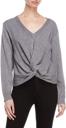 Fate Knotted Front Sweater