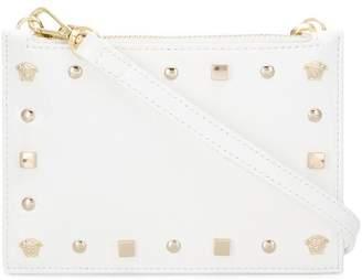 Versace studded clutch bag