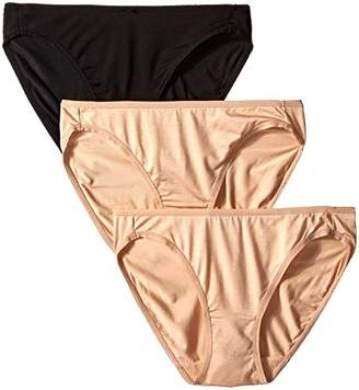 Felina Women's Sublime Low Rise Bikini (Pack Of 3)