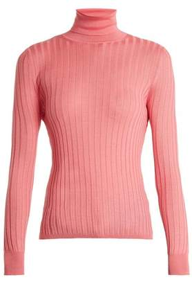 Gucci Roll-neck ribbed-knit sweater