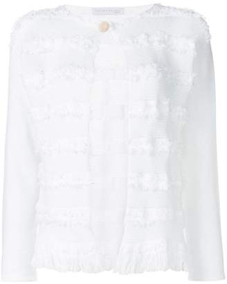 Fabiana Filippi embroidered fitted cardigan