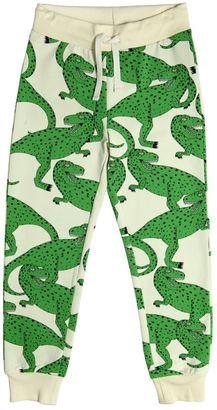 T-Rex Printed Cotton Jogging Pants