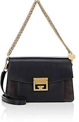 Givenchy Women's GV3 Small Leather & Suede Shoulder Bag - Black