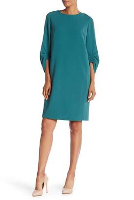 Lafayette 148 New York Tory 3/4 Length Sleeve Dress