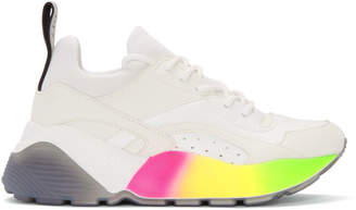 Stella McCartney White Gradient Eclypse Sneakers
