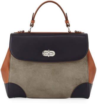 Ralph Lauren Tiffin 29 Colorblock Top Handle Bag