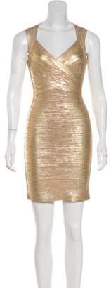 Herve Leger Iman Bandage Dress