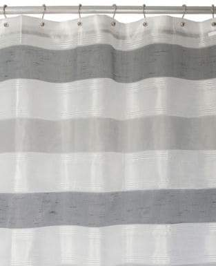 Famous Home Fashions Neo Grey Shower Curtain