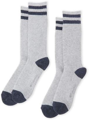 Columbia Two-Pack Explorer Stripe Socks