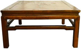 One Kings Lane Vintage Antique Yumu Wood Coffee Table - FEA Home