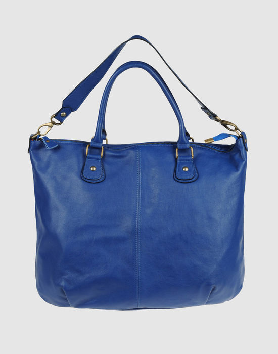 WHITE IN 8 Large leather bag