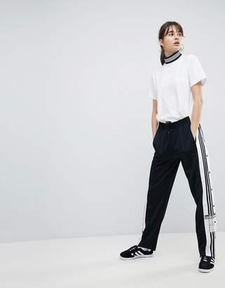 adidas adicolor Popper Pants In Black