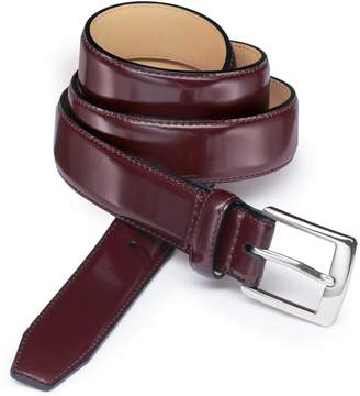 Charles Tyrwhitt Oxblood Leather Dress Belt Size 38-40