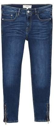 MANGO Crop skinny Isa jeans