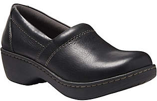 Eastland Leather Closed Back Slip On Clogs - Constance