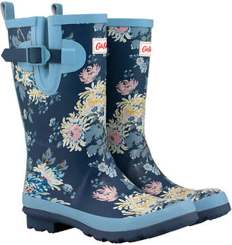 Cath Kidston York Flowers Calf Length Wellingtons