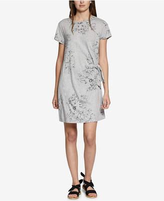 Sanctuary Wrapsody Cotton Printed Dress