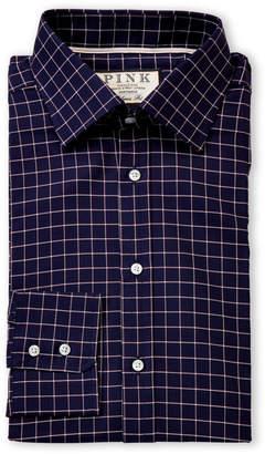 d483b6bb Thomas Pink Classic Fit Hadley Check Long Sleeve Dress Shirt