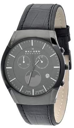 Skagen Men's 901XLBLB Label All
