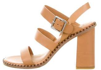 Marc by Marc Jacobs Leather Multistrap Sandals $125 thestylecure.com