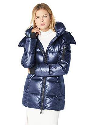 SAM. Women's Soho Belted Down Puffer Jacket