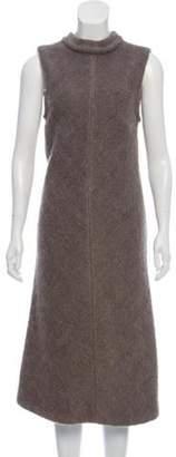 Humanoid Sleeveless Midi Dress Grey Sleeveless Midi Dress
